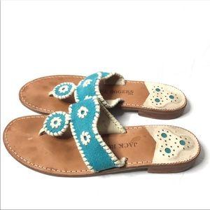 Jack Rogers Canvas Sandals